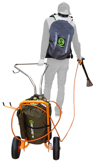 professional-thermal-flame-weeder-with-harness